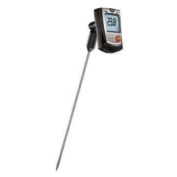 德图/Testo testo 905-T1刺入式温度计 带刺入式K型电热偶探头, 订货号:0560 9055
