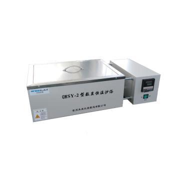 未来仪器 高温恒温沙浴锅(600℃),GWSY-2