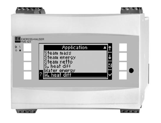 E+H RMS621X-NA累加仪主板