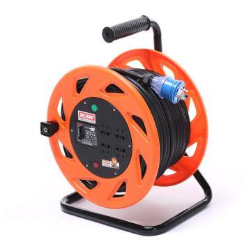 野狼 电缆盘电源盘,YL-EX2255A(带漏电保护器,过载保护器,电源指示灯)