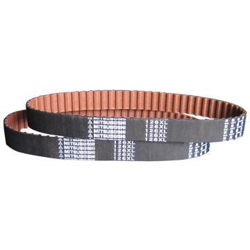 三星梯形齿同步带,橡胶材质,1英寸宽,112XL100
