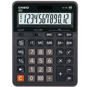 卡西欧 GX-14B 常规计算器  黑色