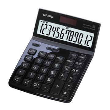 卡西欧 DW-200TW-BK 计算器 晶砂黑色