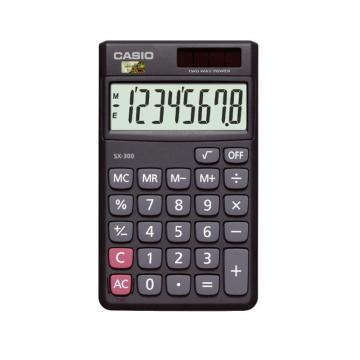 卡西欧 SX-300 计算器 黑色