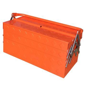 便携式带把手工具箱420×200×200mm(5抽)