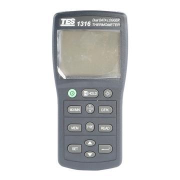 温度计,泰仕 K.J.E.T.R.S.N.温度记录表,TES-1316