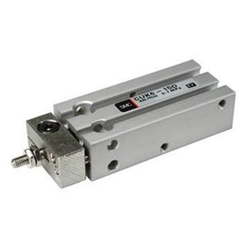 SMC 自由安装气缸,杆不回转型,单杆双作用,CDUK25-10D