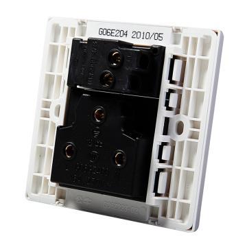 公牛 G06系列三极+单极开关插座 16A,G06E204