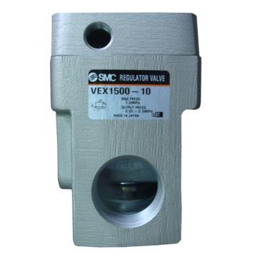 "SMC 大流量型减压阀,气控型,接管Rc3/4"",VEX1500-06"