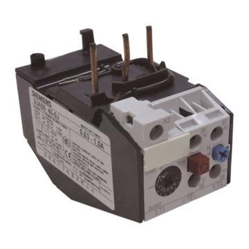 西门子 热过载继电器,3UA5040-0J 0.63-1A