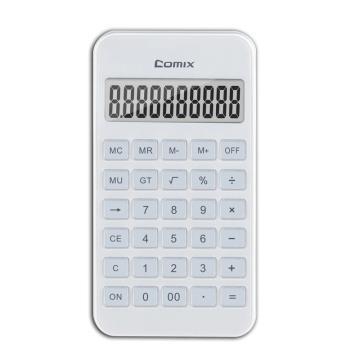 齐心 C-4S 计算器 便携爱尚计算器 白