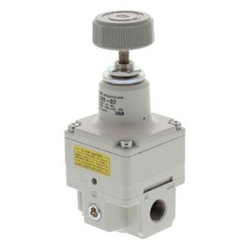 SMC IR精密减压阀,压力表另配,IR3000-02