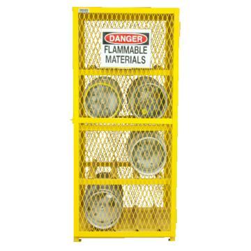 水平气罐存储柜,宽深高:762*762*1822,可装8个气罐