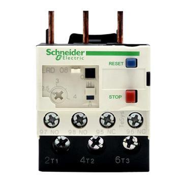 施耐德 热过载继电器,LRD08C