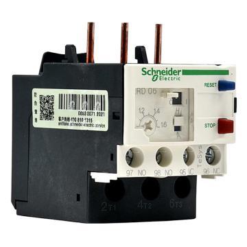 施耐德 热过载继电器,LRD06C