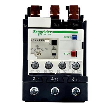 施耐德 热过载继电器,LRD365C