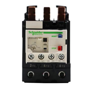 施耐德 热过载继电器,LRD340C