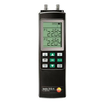 德图/Testo 差压仪,testo 312-4,订货号:0632 0327