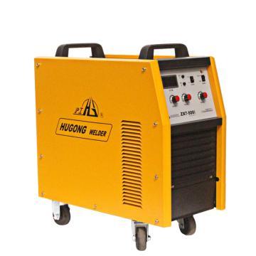 沪工逆变式直流弧焊机,380V 额定输入容量27KVA,ZX7-500I