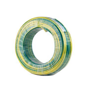 远东 单芯电线,BV-4mm2 黄绿色,100米/卷