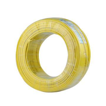 远东 单芯电线,BV-1.5mm2 黄色,100米/卷