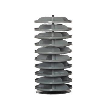 DURHAM MFG 10托架432mm Rotabin分层旋转架,载重(kg)总承重:272