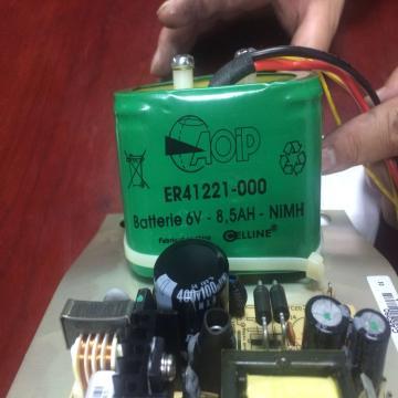 CHAUVIN ARNOUX 电池,配C.A 6250低阻测试仪