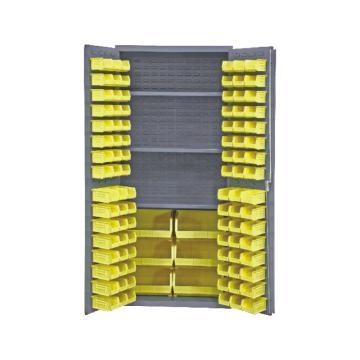 存储柜(102个物料箱、3个托架),宽深高:914*610*1829,承重(kg):408