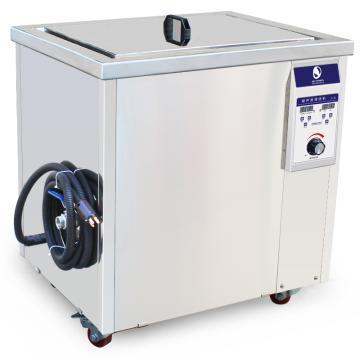 洁盟 大型超声波清洗机,数码定时加热,容量99L,28/40KHz可选,0~1500W,温度20-95℃,JP-300ST