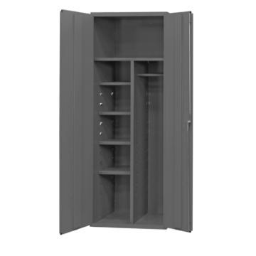 专用清洁用品存储柜,宽深高:914*610*2134,载重(kg)托架承重:136(4),408(1)
