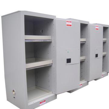 成霖 灰色全钢毒品柜,20加仑/75升,单门/手动,CLD10300