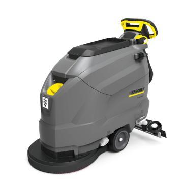 凯驰手推式紧凑型洗地吸干机,BD 50/50