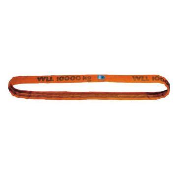 多来劲 圆吊带,圆形吊装带,10T*1M,橙色