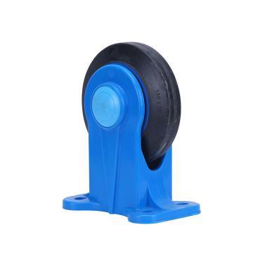 """定向轮,4""""(全静音) 日本静音塑料手推车用,150kg"""