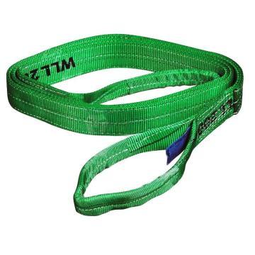 耶鲁扁吊带,绿色, 2T 4m