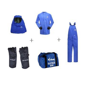 雷克兰AR33电弧防护服套装,L,深蓝