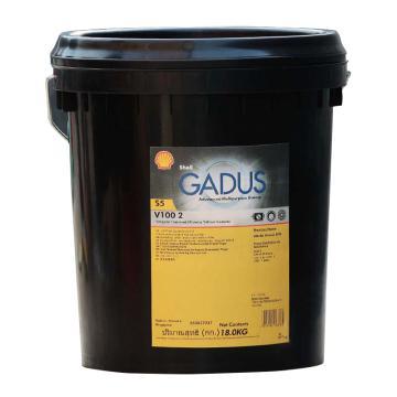 壳牌 轴承润滑脂,中高速低温合成型,GADUS-S5V100-2-18kg