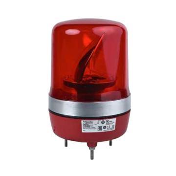 施耐德 旋转声光报警器,不带蜂鸣器,Φ106m,XVR10B04