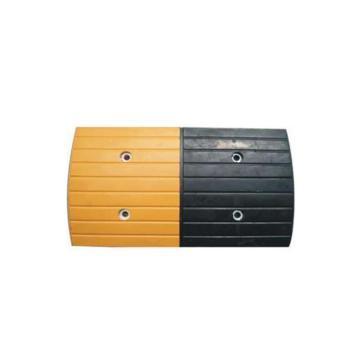 条纹型原生橡胶减速带,长500×宽300×高30mm