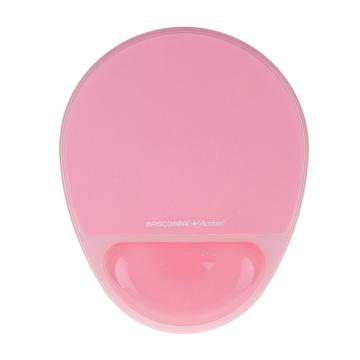 MASCOMMA 波浪腕托鼠标垫,(水晶粉) 单位:块