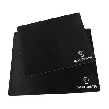 MASCOMMA 防滑鼠标垫, AM00312/B 中号 (黑色) 单位:块