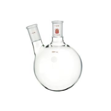 厚壁斜两口瓶,高强度,中间磨口:45/50,侧磨口:29/42,2000ml