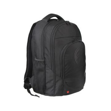 MASCOMMA 北美风情双肩电脑包 BC00604/BK (黑色)