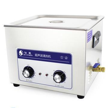 洁盟 超声波清洗机,机械定时加热,容量:15L,超声波功率:360W,JP-060