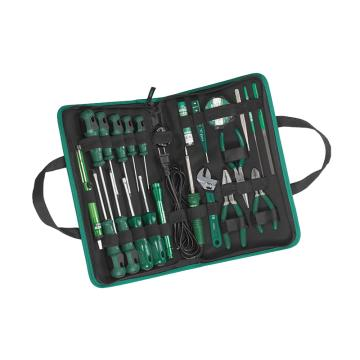 世达 电工工具套装,世达23件套,03780,升级后为25件套