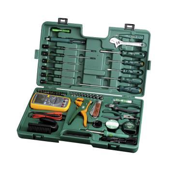 世达电讯工具组套,53件套,09535,升级后为56件套