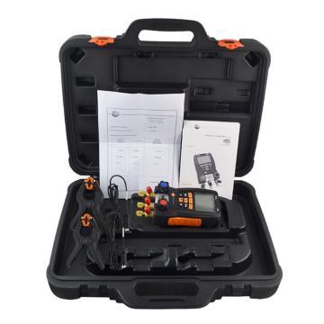 德图/Testo testo 550-1套装电子歧管仪,适用于39种制冷剂