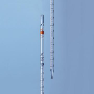 刻度移液管,BLAUBRAND?,AS级,2类(标称量程刻度位于顶端),10ml,12个/包