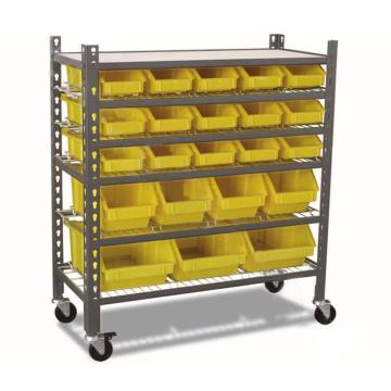 零件盒货架,承重:60kg 5层