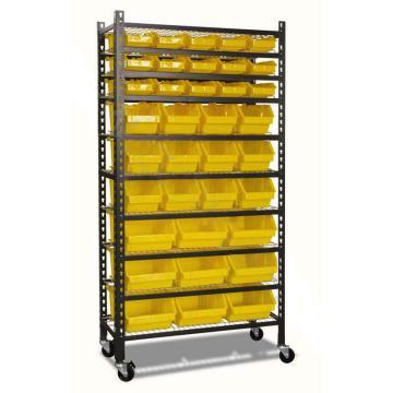 零件盒货架,承重:150kg 9层